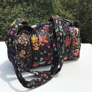 Vera Bradley Tavern on the Green Small Duffel Bag